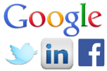 Breaking News: Google, Facebook, Twitter and LinkedIn fight it out