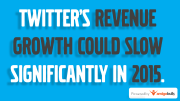Twitter Revenue Growth Could Slow Significantly In 2015